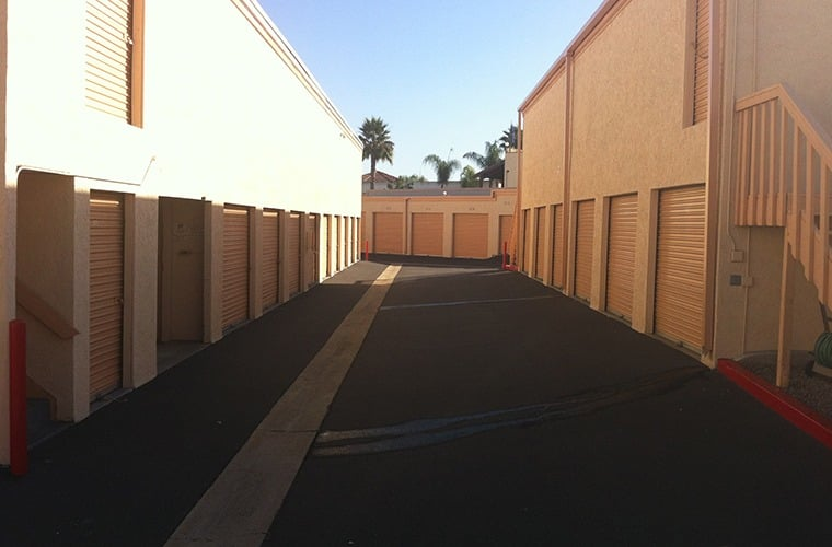 Our wide driveways make moving into or out of your storage unit at San Marcos Mini Storage a breeze.