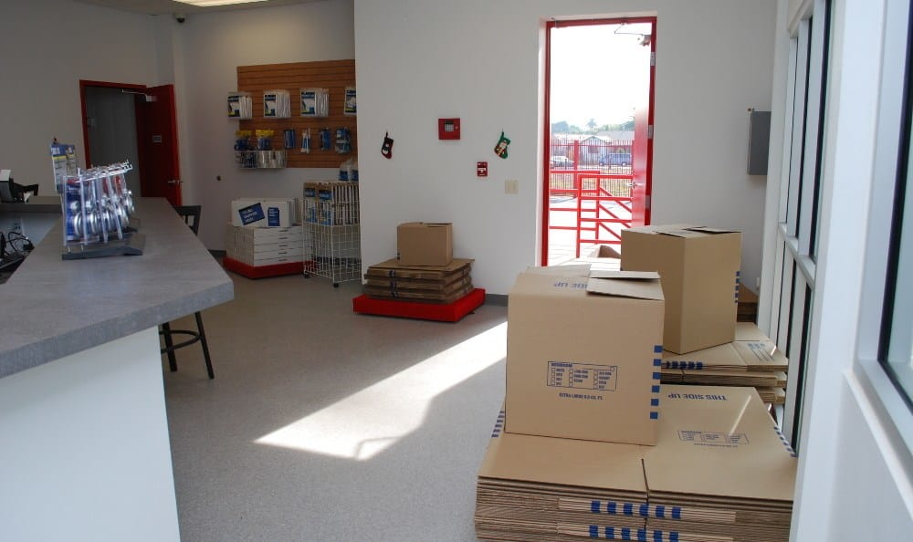 Our office at South Gate Self Storage