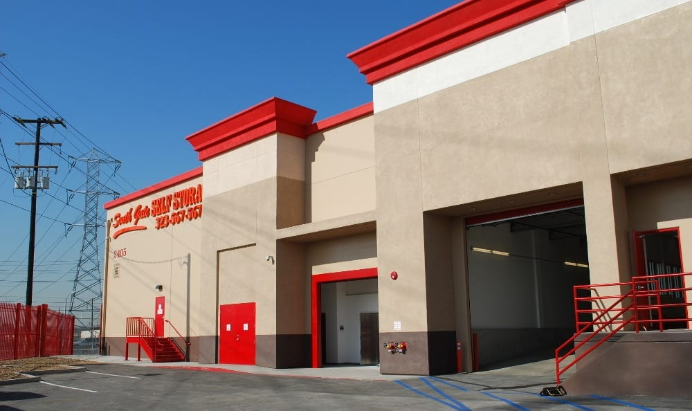 Entrance to our storage facility in South Gate, CA