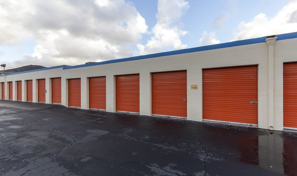 Garage units at Santee MiniStorage