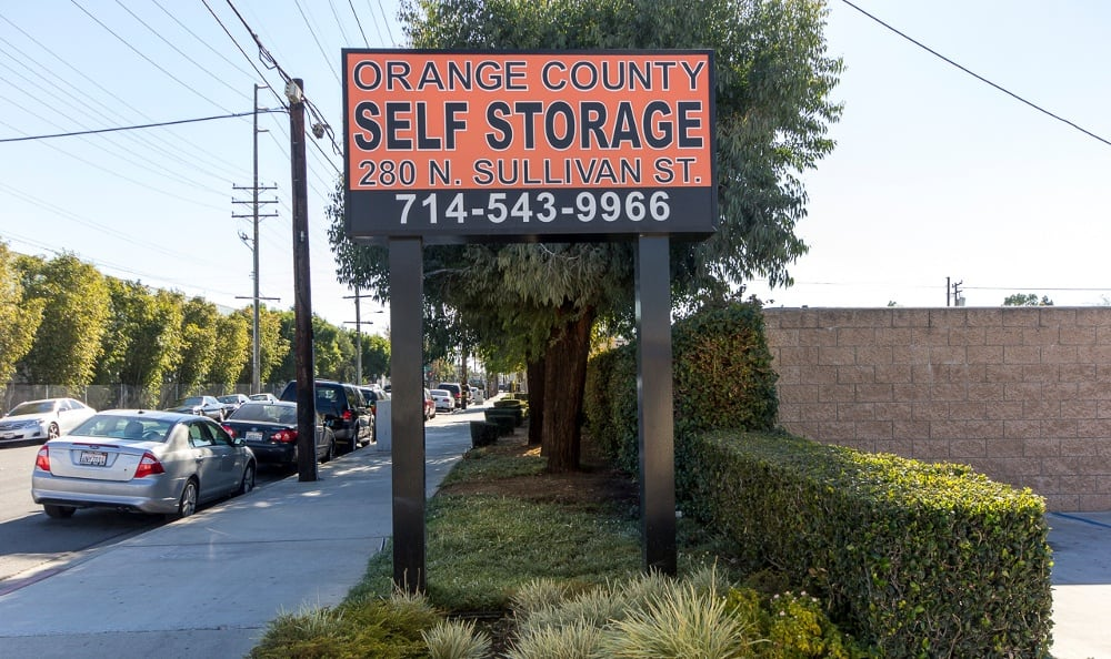 Photos of Orange County Self Storage in Santa Ana, California
