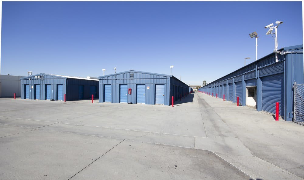 Room for trucks at Orange County Self Storage