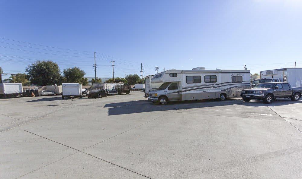 RV and Boat storage at Orange County Self Storage
