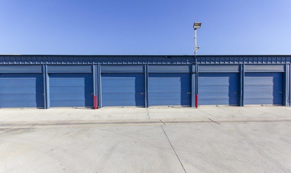 Drive up storage at Orange County Self Storage