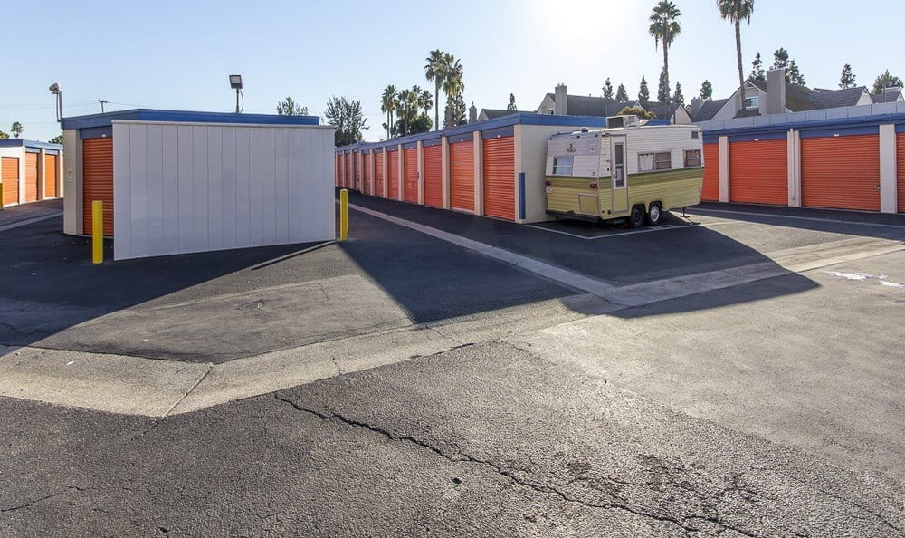 Spacious storage  at Costa Mesa MiniStorage