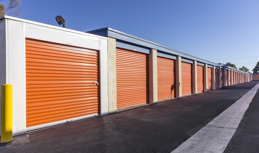 Drive Up storage  at Costa Mesa MiniStorage