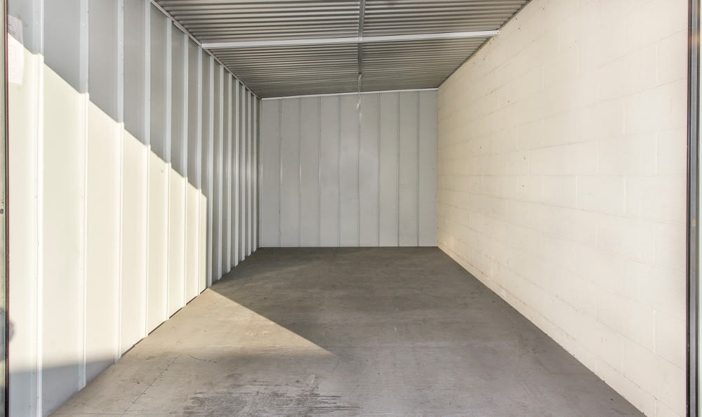 Large storage units available at Costa Mesa MiniStorage