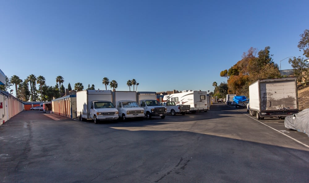 RV and Boat storage  at Costa Mesa MiniStorage