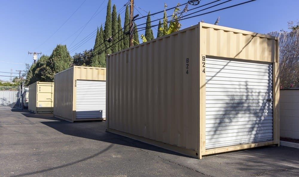 Clean units at Anaheim MiniStorage