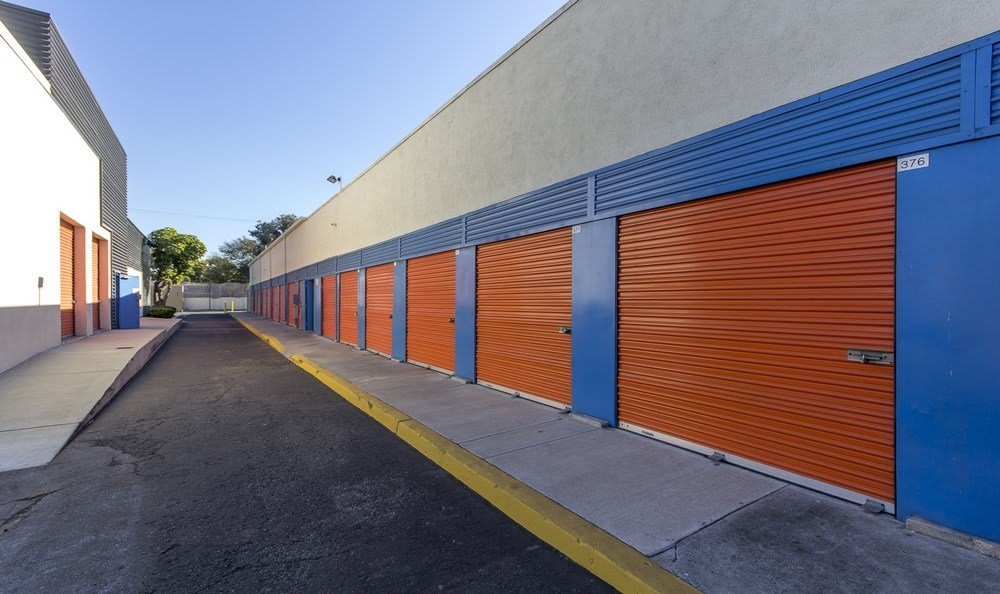 Drive Up units at Anaheim MiniStorage