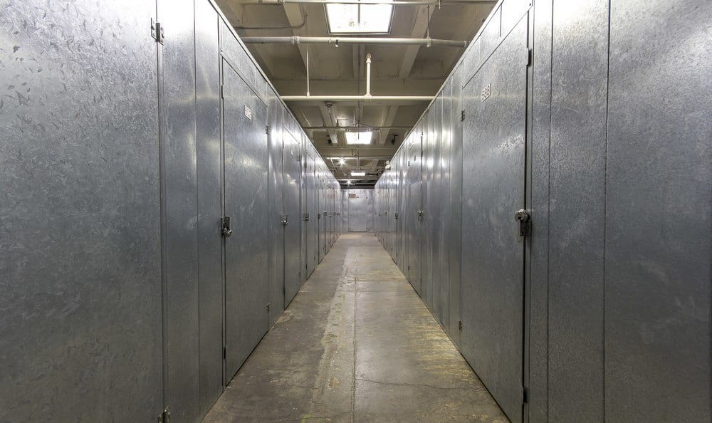 Interior units of our self storage facility in Anaheim