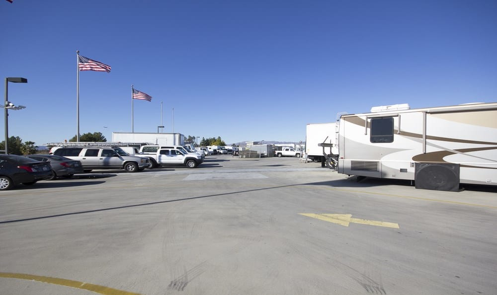 RV and Boat parking at Sherman Oaks MiniStorage