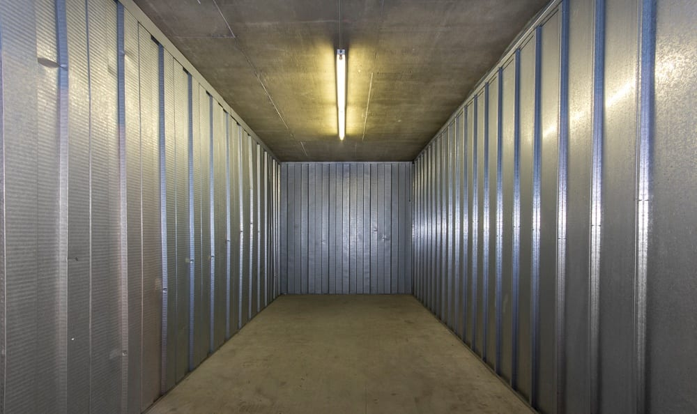 Safe storage units at Sherman Oaks MiniStorage