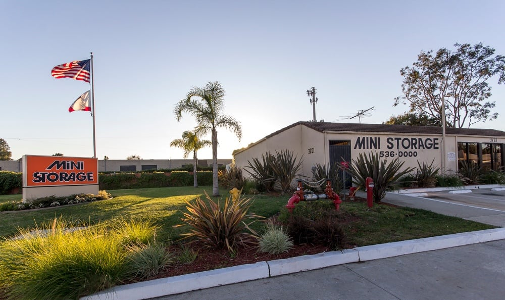 Front of our storage facility in Redondo Beach, CA