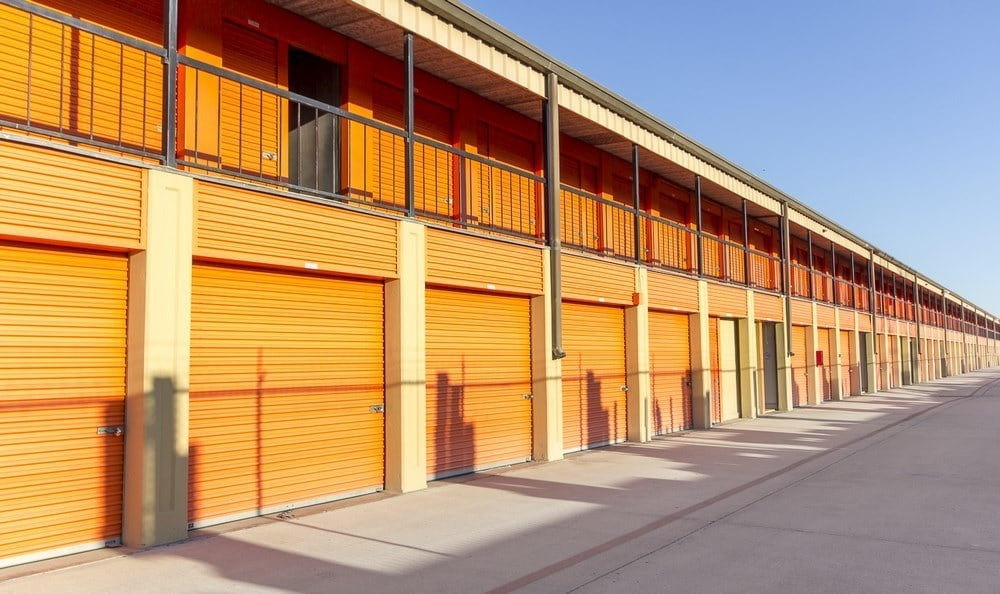 Drive up units at Redondo Torrance MiniStorage