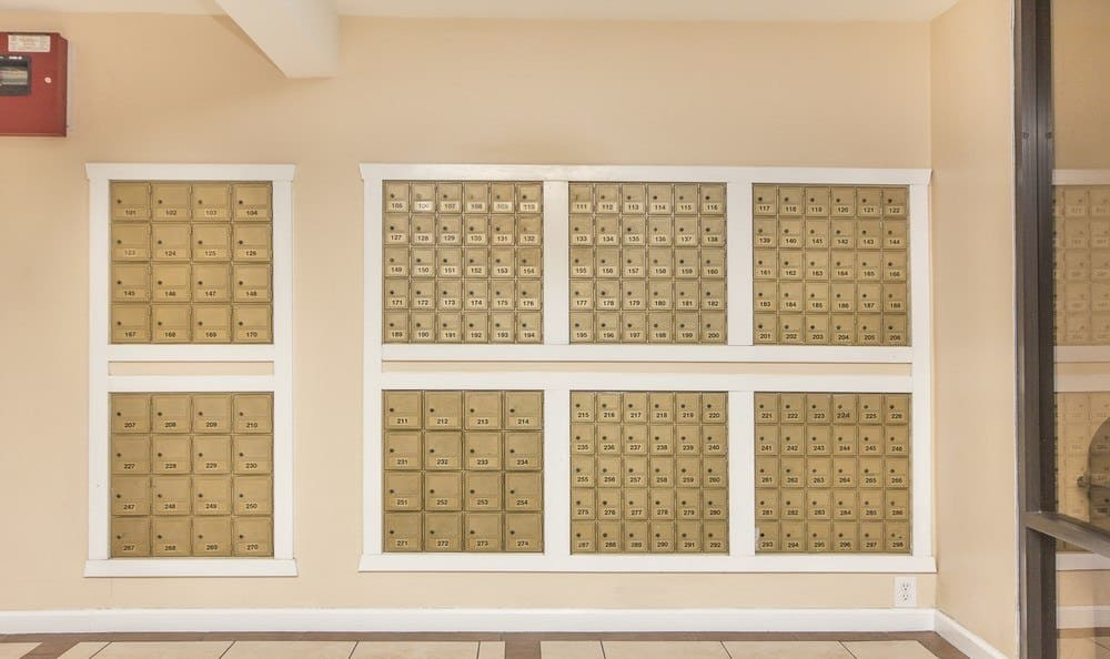 Mailboxes available at Redondo Torrance MiniStorage