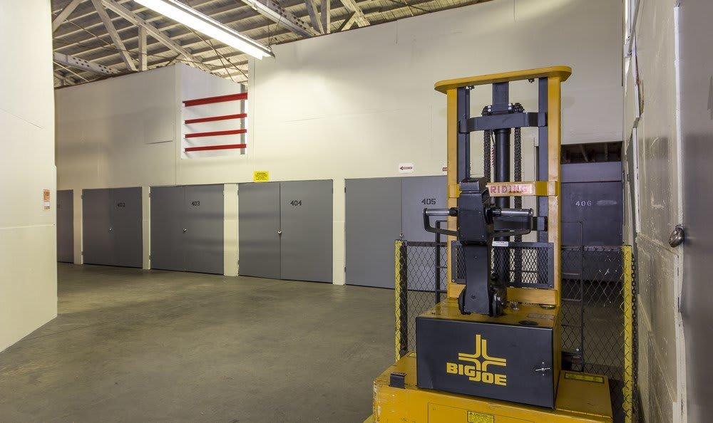 Clean storage units at Pasadena MiniStorage