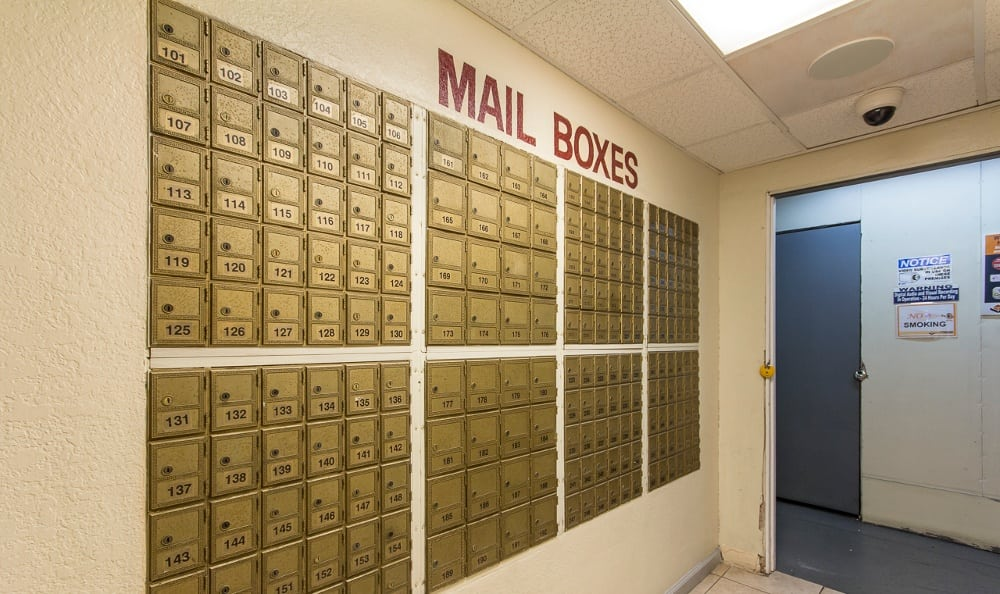Mailbox at Pasadena MiniStorage