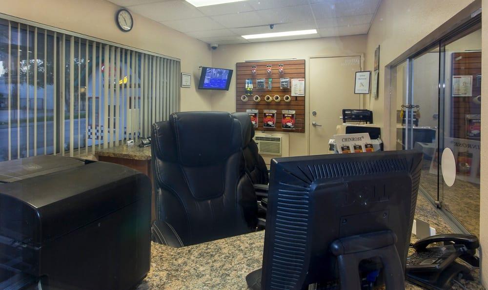 Office at Pasadena MiniStorage