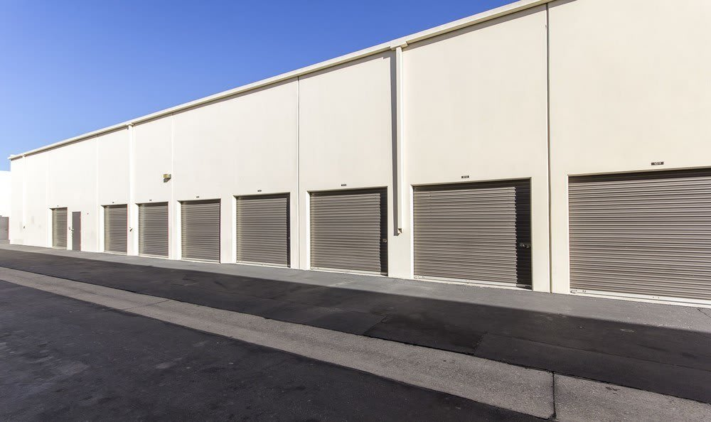 Garage units at Paramount Self Storage
