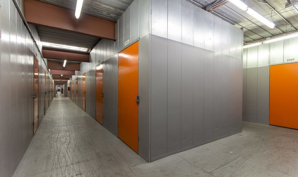 Interior units at Paramount Self Storage