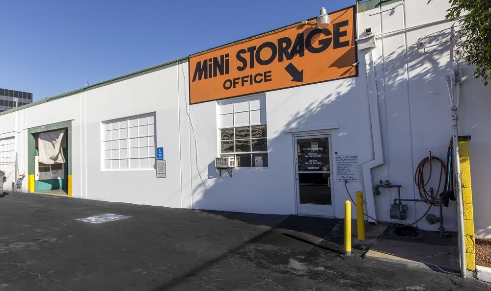 Office at our self storage facility in Los Angeles