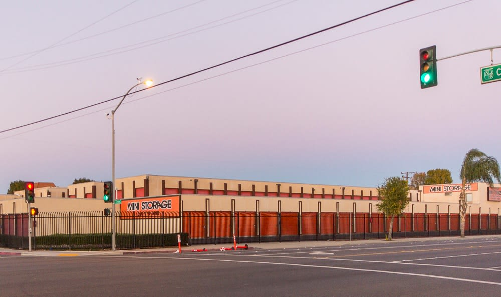Front of our storage facility in Hawthorne, CA
