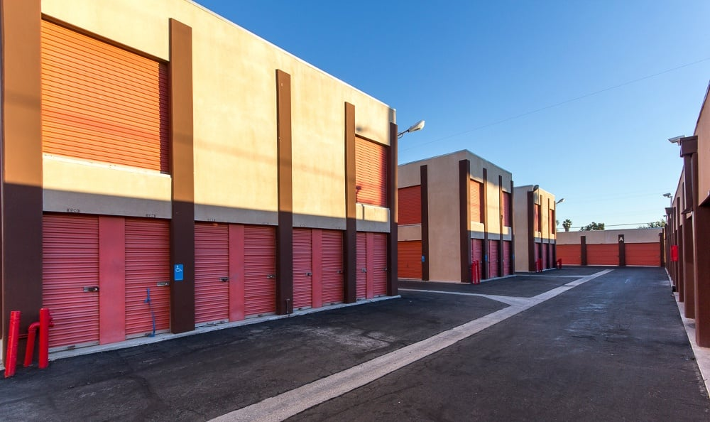 Safe storage units at South Bay MiniStorage