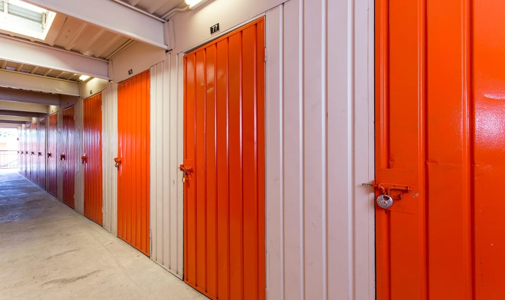 Secure storage units at Van Nuys MiniStorage