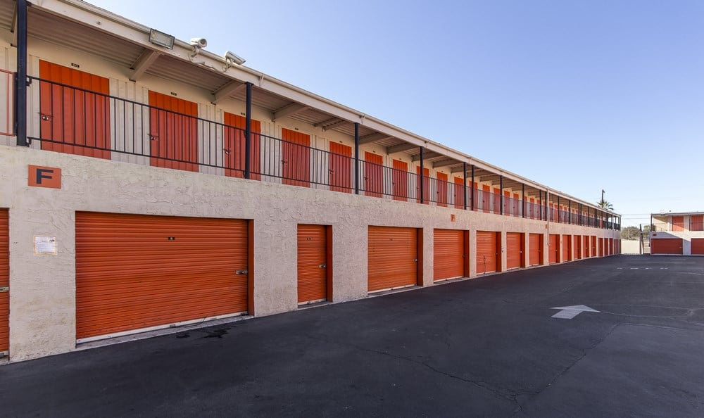 Drive up units at Van Nuys MiniStorage