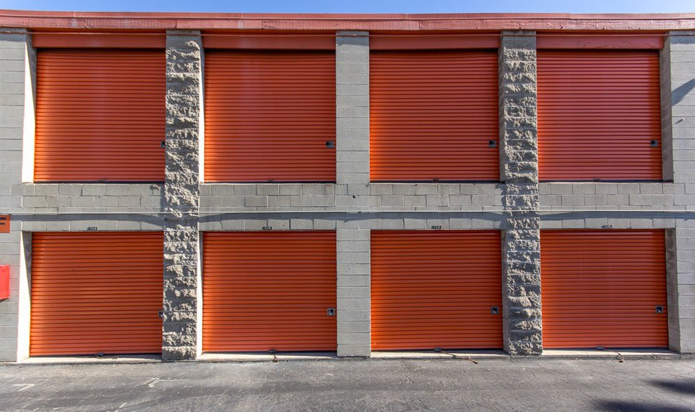 Exterior Of Storage Units at West L.A. MiniStorage