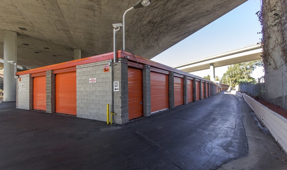 Drive Up units at West L.A. MiniStorage