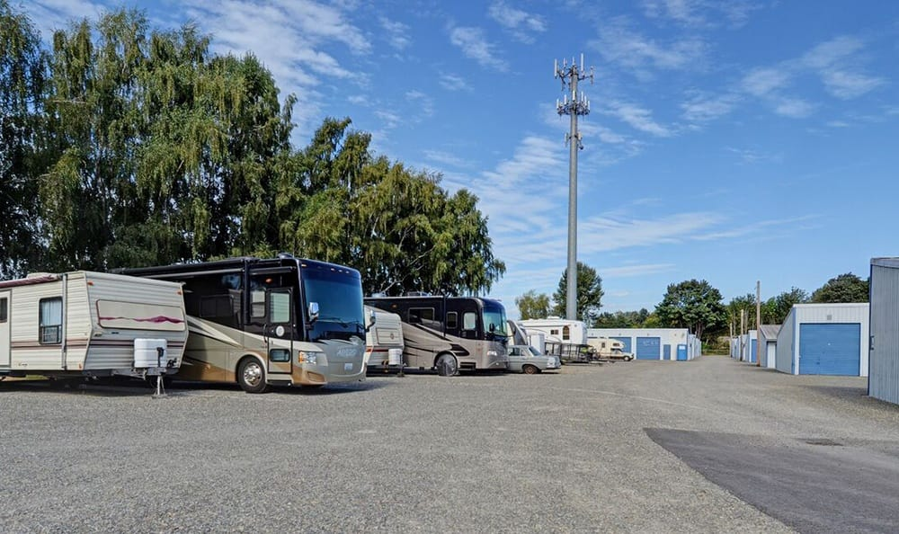 Rv Parking at Puyallup Self Storage