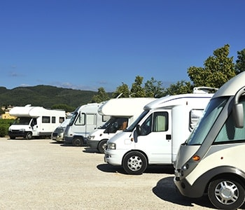 Store RVs up to 60 feet in length at Stor-Eze
