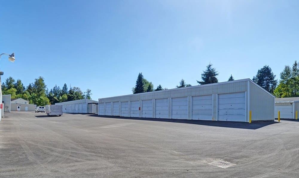 Rv And Auto Storage At Self Storage In Puyallup Washington