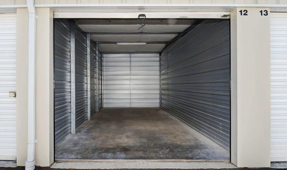 Storage Unit At Self Storage In Puyallup Washington