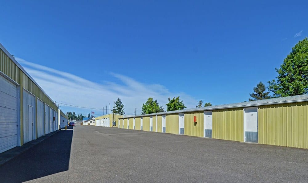 Variety Of Unit Sizes At Self Storage In Tacoma Washington