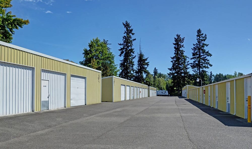 Wide Driveways At Self Storage In Tacoma Washington