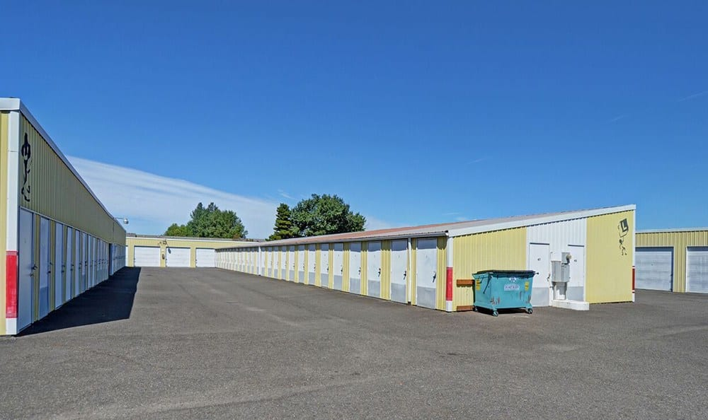 Wide Driveways At Self Storage In Lakewood Washington