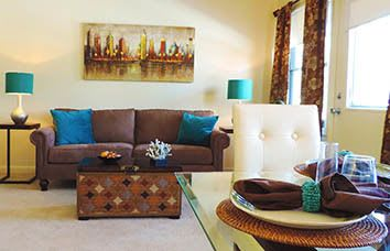 Affordable apartments at The Gardens in Loch Raven, Baltimore, Maryland