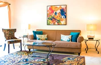 Affordable apartments at The Bluffs in Columbia, Maryland