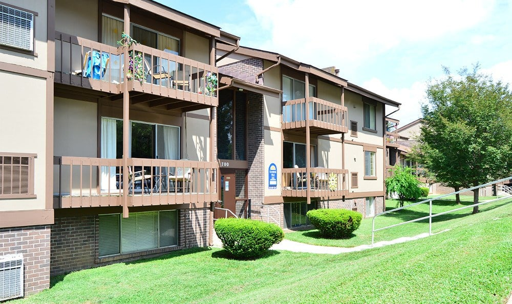 Our Cockeysville MD apartments have spacious balconies