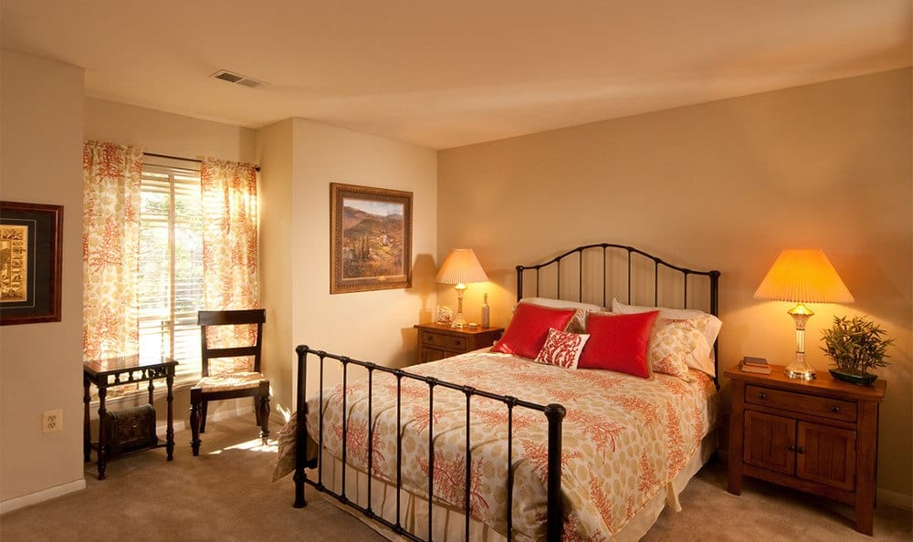 Spacious bedrooms at Cranbrook Hills Apartments