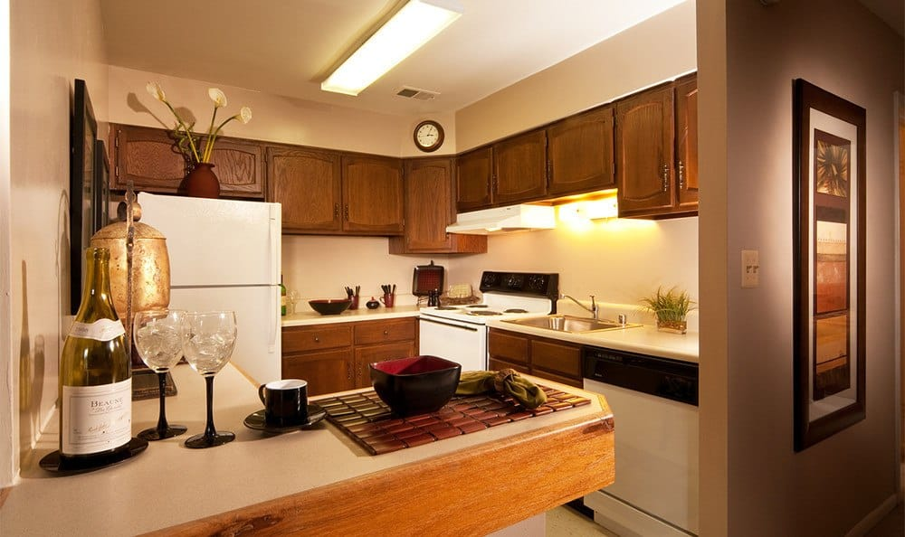 Kitchen at our beautiful apartments in Cockeysville MD