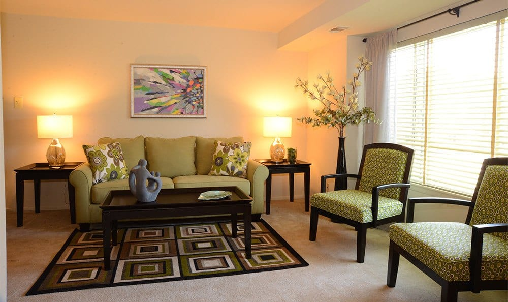 Essex apartments designer living rooms