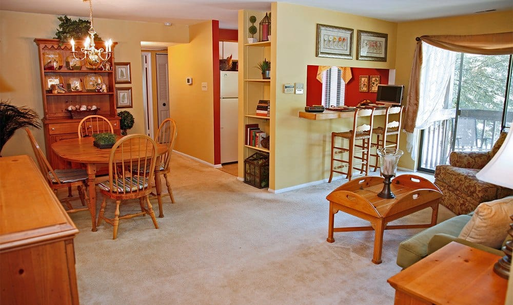Overview of our apartments in Columbia MD