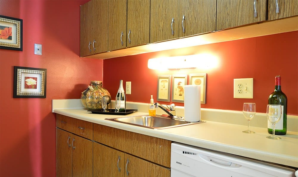 Spacious kitchens at our apartments in Glen Burnie, MD