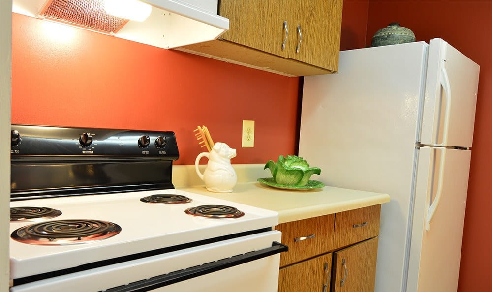 Spacious Glen Burnie kitchens can be found at our apartments