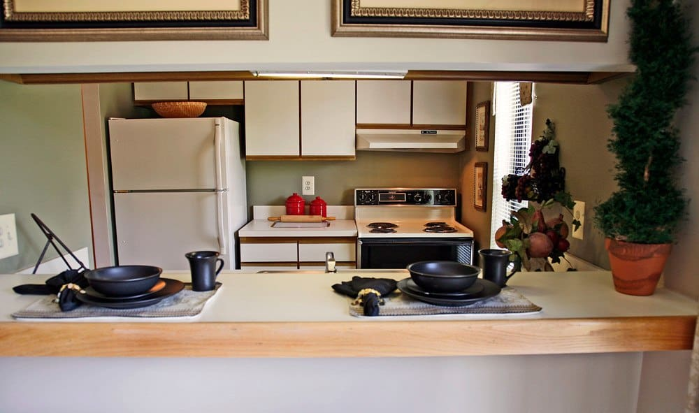 Our Glen Burnie apartments have spacious kitchens