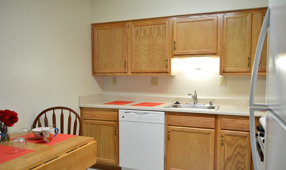 Spacious kitchens at apartments for rent in Baltimore, MD